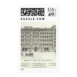 Market South side 4th Stamps