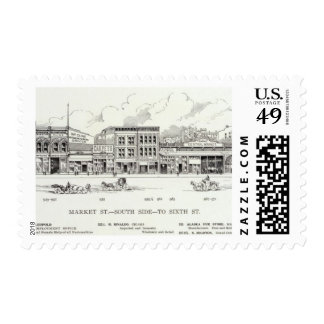 Market South side 6th 2 Postage
