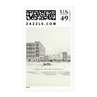 Market South side 7th Stamp