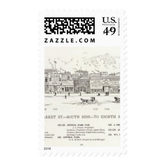 Market South side 8th Stamps