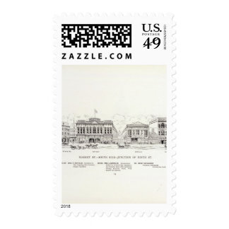 Market South side 9th Stamp