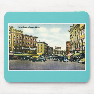Market Square, Bangor, Maine Mouse Pad