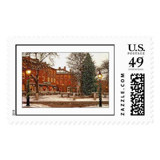 Market Square Christmas Postage