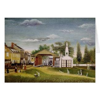 Market Square, Germantown, Pennsylvania Card