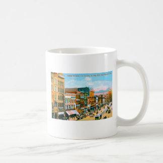 Market St. betw. 3d & 4th St Classic White Coffee Mug