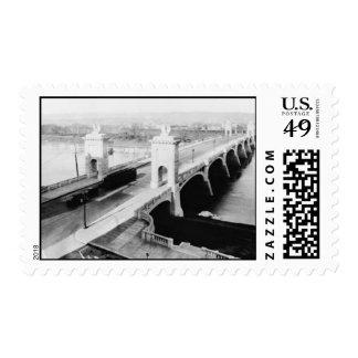 Market St. Bridge Wilkes-Barre Pa. Postage Stamp