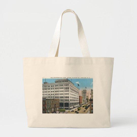 Market St., Newark NJ Vintage Large Tote Bag
