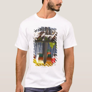 Market stall in Florence, Italy T-Shirt