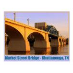 Market Street Bridge - Chattanooga, TN Postcard