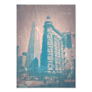 Market street in San Francisco Art Photo