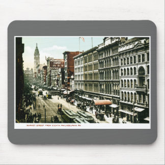 Market Street, Philadelphia , PA Mouse Pad