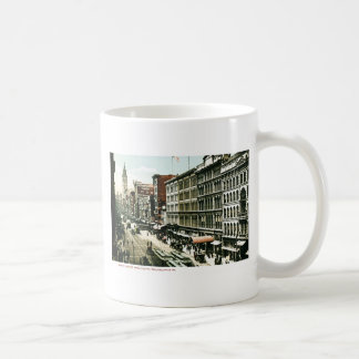 Market Street, Philadelphia , PA Mug