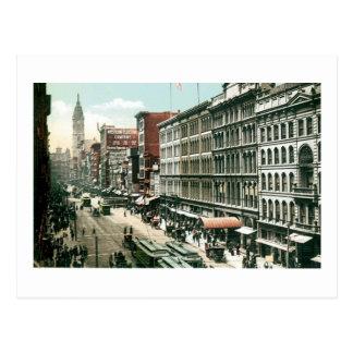 Market Street, Philadephia, PA Postcard