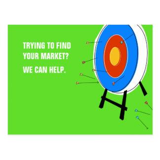 Market Target Postcard