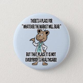 Market Will Bear Pinback Button