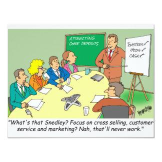 MARKETING / BANKING / BOARD MEETING finance gifts Card