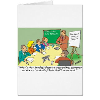 MARKETING / BANKING / BOARD MEETING finance gifts Card