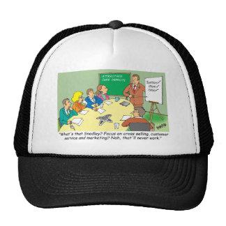MARKETING / BANKING / BOARD MEETING finance gifts Trucker Hats