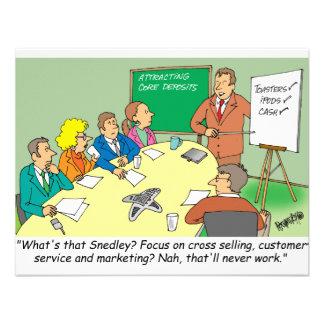 MARKETING / BANKING / BOARD MEETING finance gifts Custom Invitation