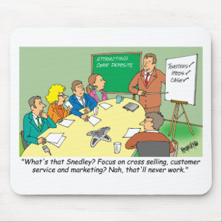 MARKETING / BANKING / BOARD MEETING finance gifts Mouse Pad