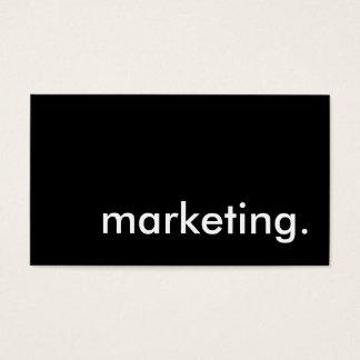 marketing. business card