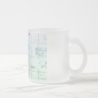 Marketing Business Strategy as a Abstract Concept Frosted Glass Coffee Mug