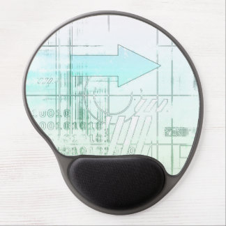 Marketing Business Strategy as a Abstract Concept Gel Mouse Pad