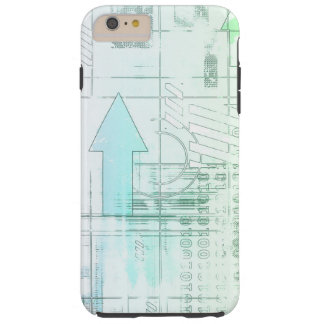 Marketing Business Strategy as a Abstract Concept Tough iPhone 6 Plus Case
