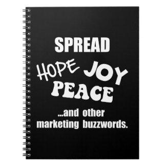 Marketing Buzzwords Spiral Notebook