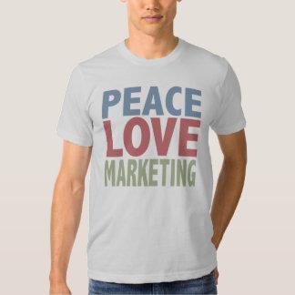 Márketing del amor de la paz polera