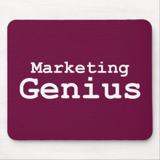 Marketing Genius Gifts Mouse Pad