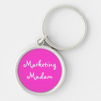 Marketing Madam - Ladies Marketing Name Keychain