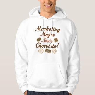 Marketing Major Chocolate Hoodie
