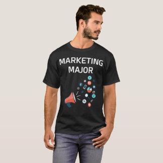 Marketing Major College Degree T-Shirt