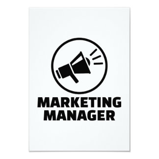 Marketing manager card