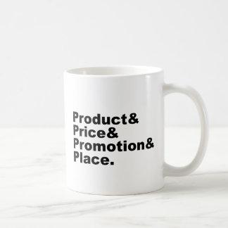 Marketing Mix | Product Price Promotion & Place Coffee Mug