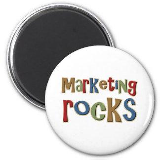 Marketing Rocks 2 Inch Round Magnet