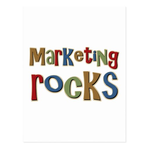 Marketing Rocks Postcard