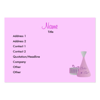 Marketing Scents Large Business Card
