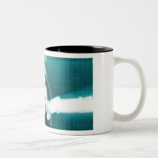 Marketing Strategy and Innovative Vision Two-Tone Coffee Mug