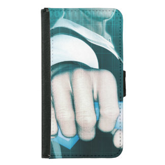 Marketing Strategy and Innovative Vision Wallet Phone Case For Samsung Galaxy S5