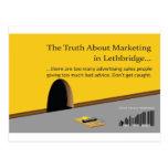 Márketing y publicidad de Lethbridge Postales