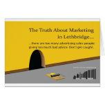 Márketing y publicidad de Lethbridge Tarjetas
