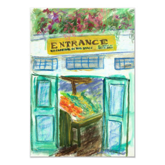 Marketplace Entrance Invite Cards (Pike Place)