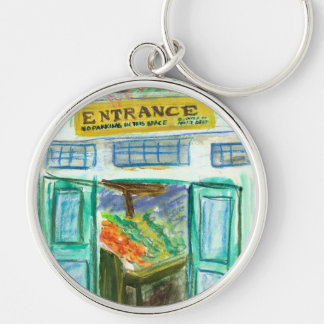 Marketplace Entrance Keychain (Pike Place Seattle)