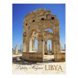 Marketplace Ruins, Leptis Magna, Libya Postcard