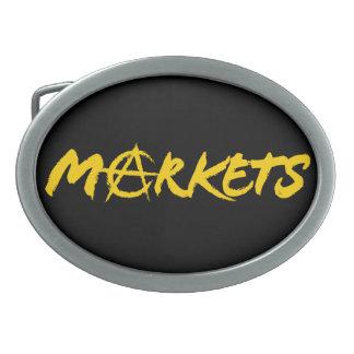 Markets Belt Buckle