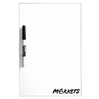 Markets Dry-Erase Board