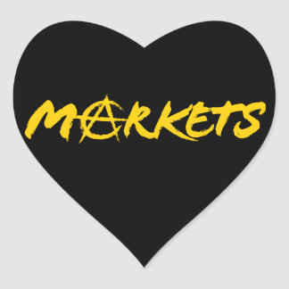 Markets Heart Sticker