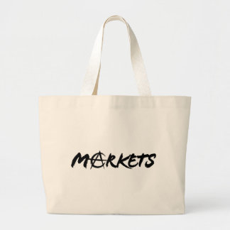 Markets Large Tote Bag